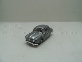 Special wholesale 1:87 scale Simulation mini alloy car,Simulation Gray classic car,Collection toy model,free shipping image