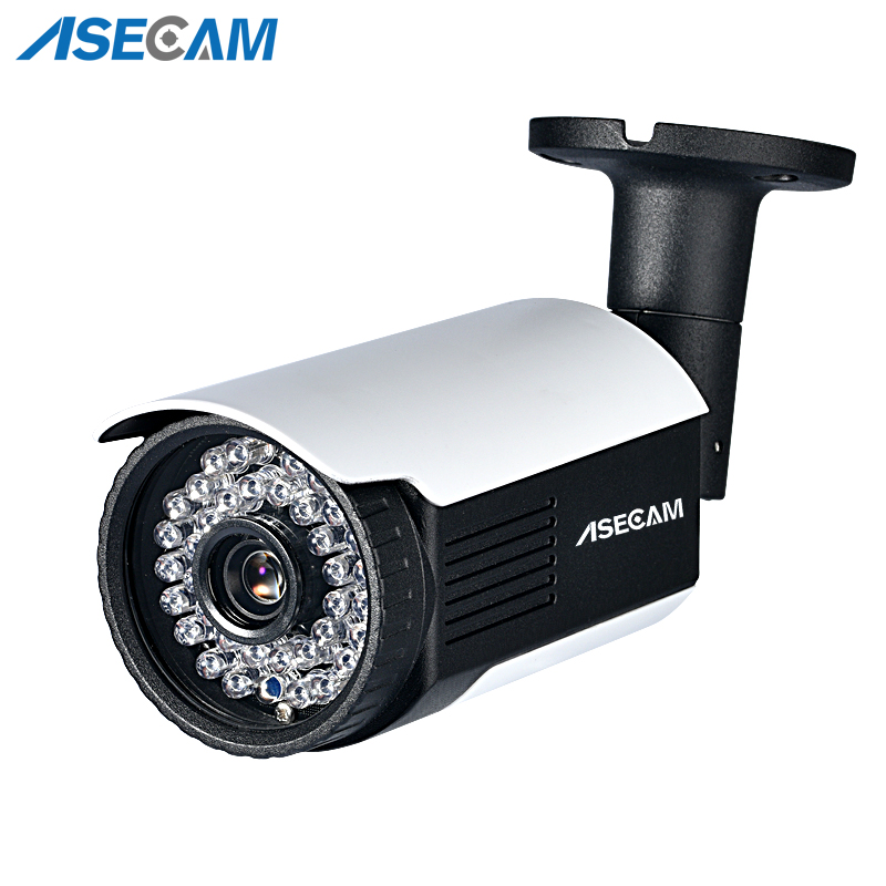 H.265 3MP IMX323 IP Camera POE 48V//DC12V Waterproof onvif Bullet Security Camera