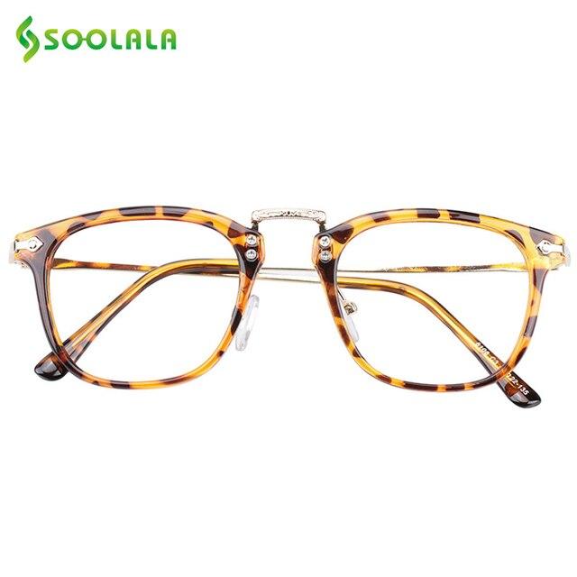 1cef34dcc9f SOOLALA Oversized Womens Reading Glasses Men Horn-rimmed Eyeglasses Frame  Full Rimmed Cheap Reading Glasses +0.5 0.75 1.5 to 4.0