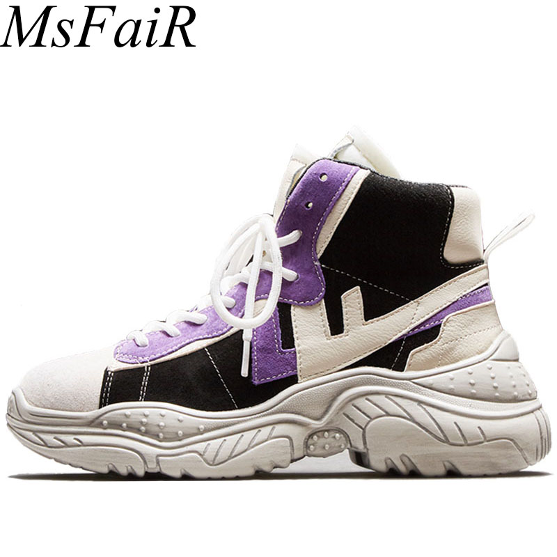 MSFSIR Plus Size 35-42 Women Running Shoes Spring Autumn Winter Sneakers For Woman Brand Athletic Walking Ladies Sport Shoes недорого