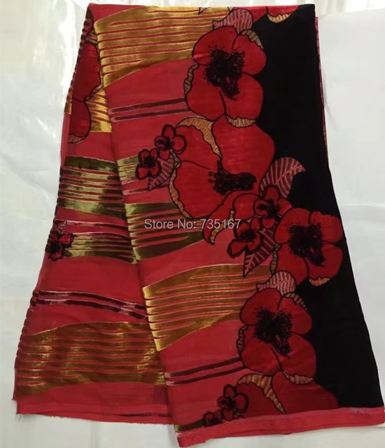 5yards Very Beautiful Silk Velvet Fabric Textile Jacquard High Quality For Lady Dress
