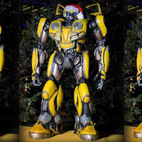 Transformed toy Movie 6 MPM07 Bumblebee Beetle version G1 model