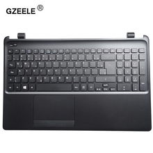 GZEELE new laptop keyboard with C shell for Acer E1-570G E1-572G E1-522 E1-572G 570 510 Palmrest C Cover BLACK(China)