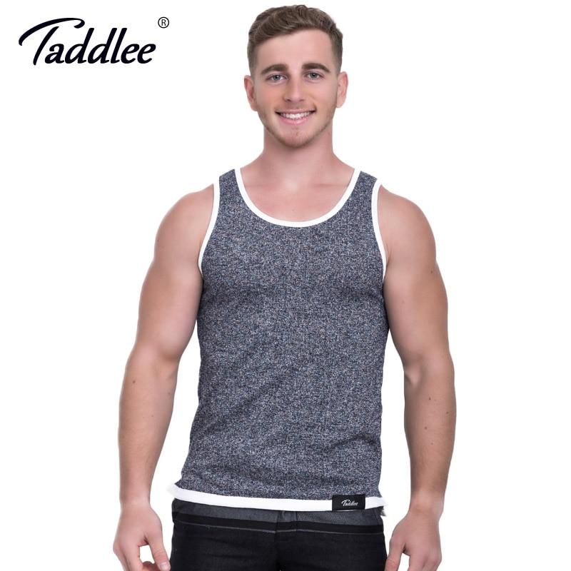 Taddlee բրենդ տղամարդկանց բամբակ Թոփաձև - Տղամարդկանց հագուստ