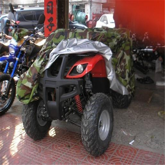 Universal Jungle Wood Camouflage XL Motorcycle Cover Outdoor Weatheproof Rain Dust Protector For Honda Suzuki Kawasaki ATV