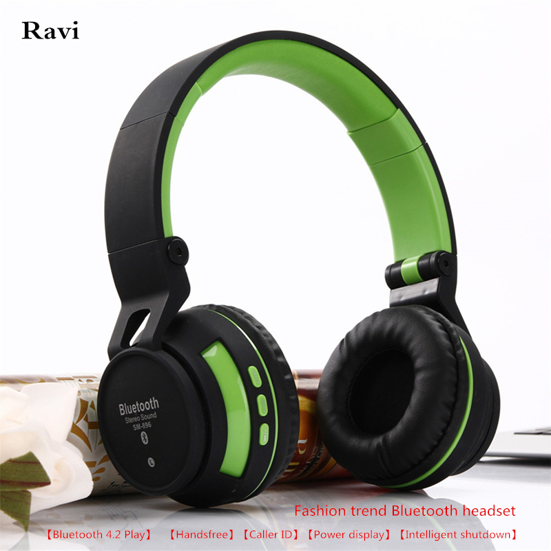 Ravi New SY-BT896 Wireless Headphones Headset Bluetooth 4.2 Subwoofer stereo  for Samsung xiaomi Apple phone and pc ravi maddaly madhumitha haridoss and sai keerthana wuppalapati aggregates of cell lines on agarose hydrogels