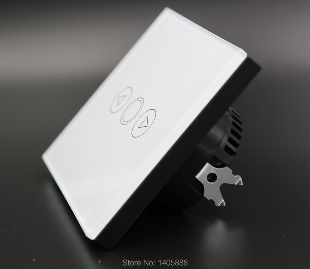 Weihnachten EU 1 Gang Smart haus dimmer schalter, touchscreen glas ...