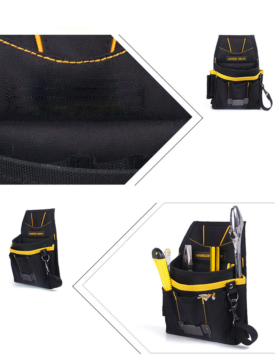 Image 3 - Черный желтый ремень сумка для инструментов сумка для набора инструментов для упаковки автомобиля виниловая пленка MO 304-in Наклейки на автомобиль from Автомобили и мотоциклы on AliExpress - 11.11_Double 11_Singles' Day