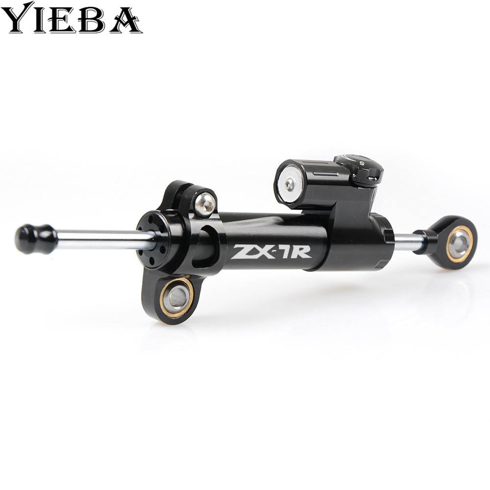 LOGO Customized for CNC Damper Steering StabilizerLinear Reversed Safety Control Over for YAMAHA Honda ktm KAWASAKI