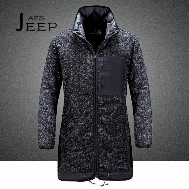 AFS JEEP New Designer Winter Man's Fashion Style X-long Trench coat,Zipper Fly Russian Winter Al aire libre man's protect leg banco de jardin parque muebles acero flores posterior aire libre asiento 127cm op2786