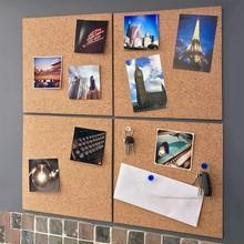 Деревянный буквенный блокнот в скандинавском стиле, доска для записей, домашний шестигранный Квадратный Круг, фото, Настенный декор для офиса, украшение дома