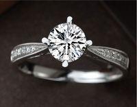 2017 NEW Design Fashion Jewelry Luxury Women Engagement Ring 5A Zircon 5A Zircon Stone 925 Sterling