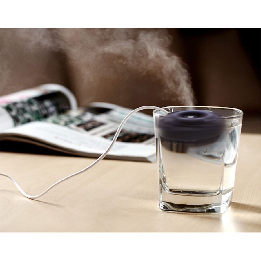 Mini Air Humidifier USB Desktop Humidifier Float Water Donuts Humidifier Mist Maker Fogger Humidifier For Home And Office mini portable air humidifier usb humidifier home desktop humidifier mist maker mini moisture fogger office