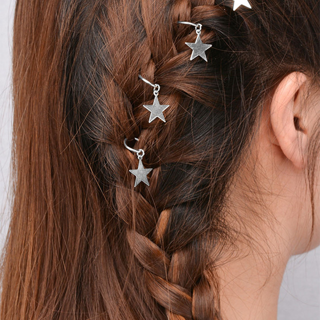 Us 1 45 Lasperal Fashion Hair Grips Hair Accessories For Women Girl Ponytail Clasp Pin Star Leaf Multi Arched Hair Clips Hair Claws Girl In Hair