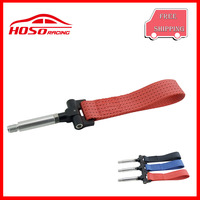 HOSO Towing Ropes Tow Strap Hook Set For Front Bumper Hook For Honda FIT GE6 GE7