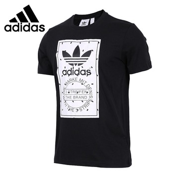 Original New Arrival  Adidas Originals LABEL TEE Men's T-shirts short sleeve Sportswear