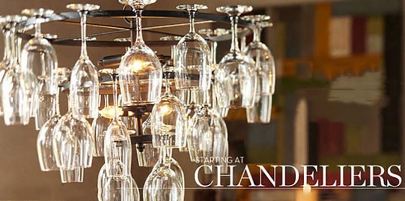 Art Deco Goblet Pendant Light Lamp Retro Red Wine Goblet Pendant lights Hanging Lamp For Hotel Bar Restaurant Glass Lamp Bracket (14)