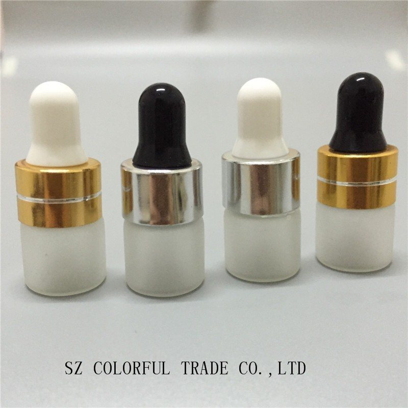 Image 4 - 50pcs/lot 1ml 2ml 3ml 5ml Perfume Essential Oil Bottles Frosted Glass Dropper Bottle Jars Vials With Pipette For Cosmetic3ml essential oil bottlefrosted glass perfume bottlesperfume oil bottles -