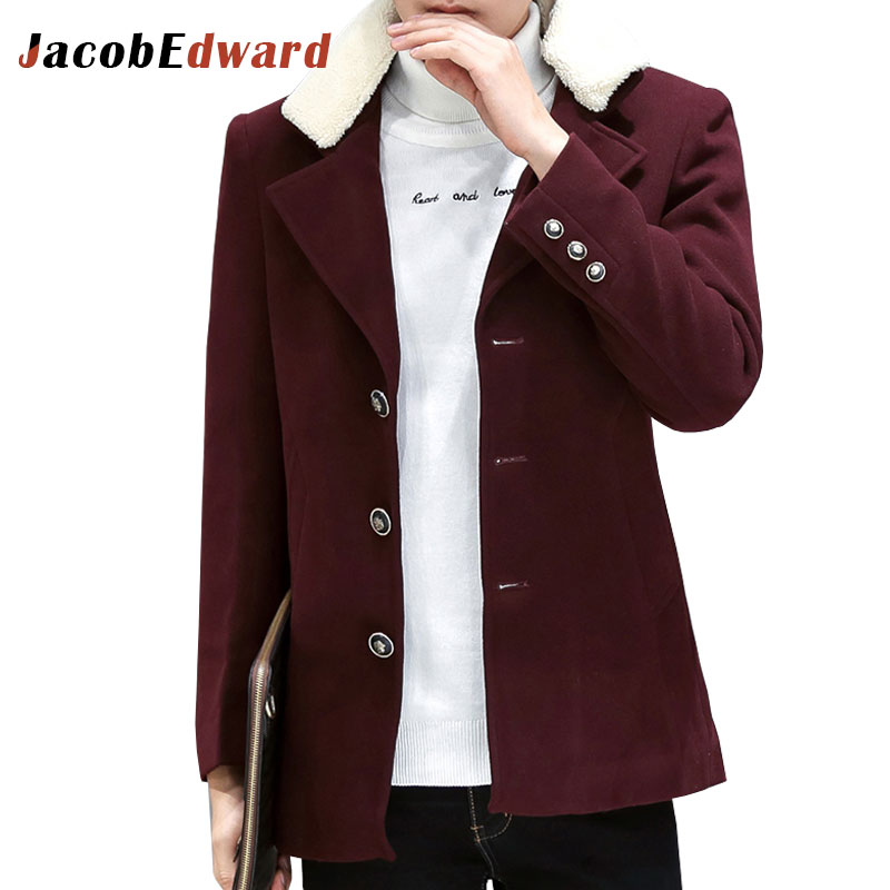Popular 100 Wool Pea Coat-Buy Cheap 100 Wool Pea Coat lots from
