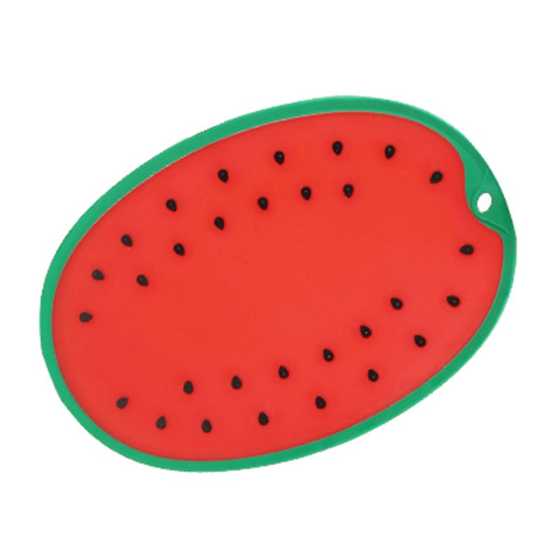 Watermelon modeling Kitchen Plastic Chopping Block Cutting Board Breadboard Non-slip Frosted Antibacteria Cutting Block