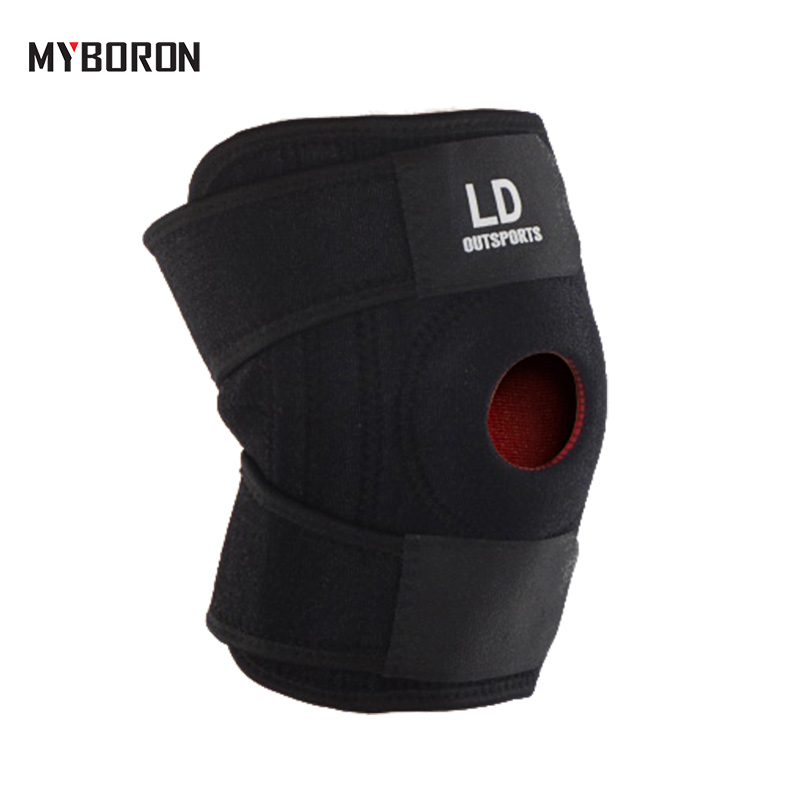 MYBORON Professional Sports Knee Pads High Elastic Basketball Knee Protector Tennis Cycling Volleyball Knee Brace Support
