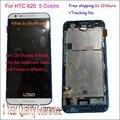 Оригинал гарантия Для HTC DESIRE 620 620G Сенсорный экран + ЖК-дисплей с рамкой и ЛОГОТИП лучшее качество испытано порядке!