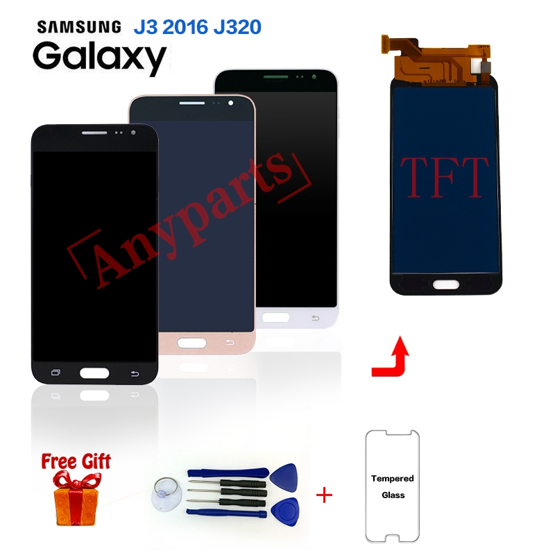 For Samsung J3 2016 J320F Display lcd Touch Screen digitizer assembly for Samsung J320 SM-J320G J320M J320A Display lcd Screen