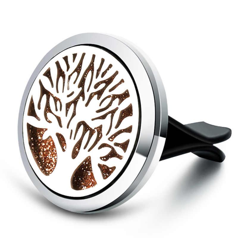 ประณีตแฟชั่น Charm น้ำหอม Life Tree Aromatherapy กล่อง Diffuser Air Fresh Diffuser ตกแต่งสร้อยคอจี้เครื่องประดับ