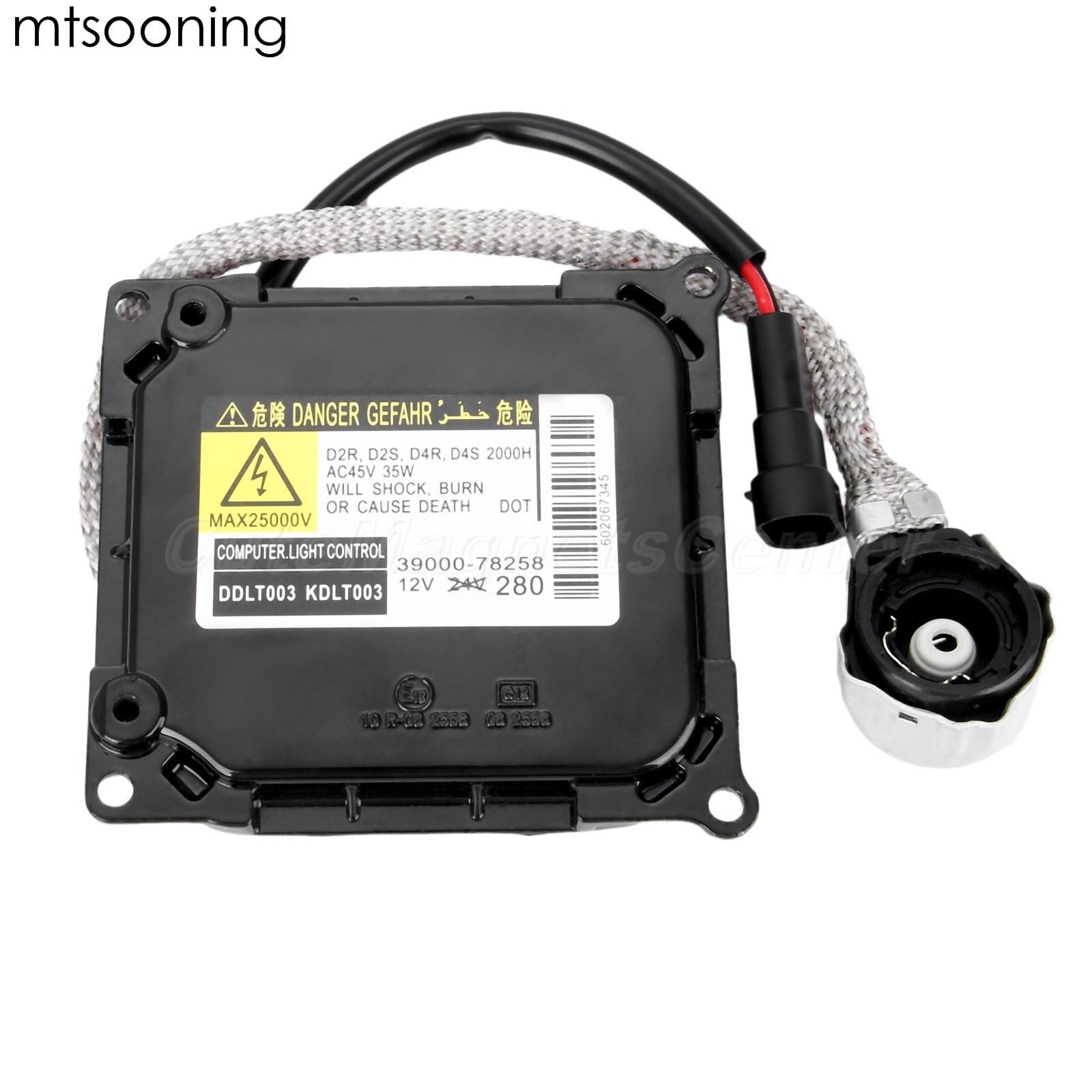 mtsooning 85967-52020 Xenon Headlight Ballast for Lexus ES350 SC430 GX460 RX450H Toyota Avalon XL XLS Venza V6