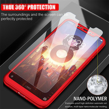 KINBOM For Xiaomi 8 SE 6 6X 360 Full Cover Phone Case Ultra Thin Protective Cases 5 5X 5Splus Max Mix 2 With Glass