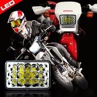 혼다 xr250 xr400 xr650 스즈키 drz 용 1x led 변환 헤드 라이트 램프 -