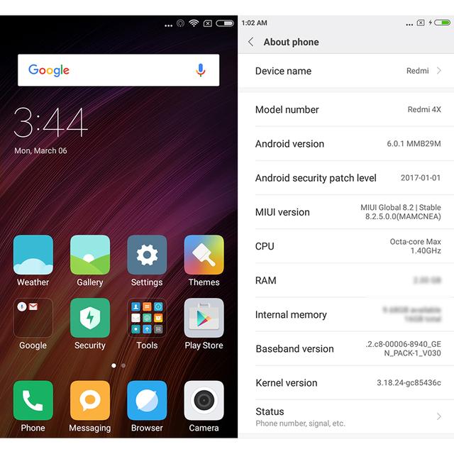 Original Xiaomi Redmi 4X 3GB RAM 32GB ROM 4100mAh Snapdragon Fingerprint ID