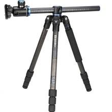BENRO GC168TV1 Профессиональная зеркальная камера из углеродного волокна Быстрый горизонтальный набор осей штатива