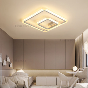 Image 3 - New Arrival nowoczesne lampy sufitowe led do salonu sypialnia kreatywna lampa sufitowa led lamparas de techo plafonnier led