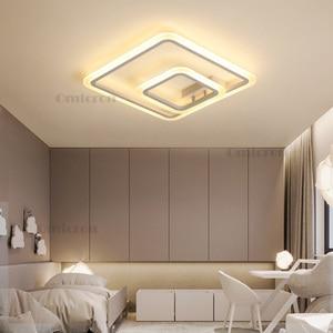Image 3 - Nuovo Arrivo moderno led luci di soffitto per soggiorno camera da letto Creativa lampada da soffitto a led lamparas de techo plafonnier led