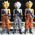 3 estilo MSP de Dragon Ball Z Goku Super Saiyan DragonBall Figura Colección Modelo Figurita 34 CM