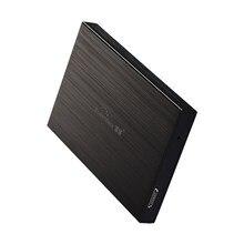 """Unidad de disco duro externo 80 GB USB2.0 2.5 """"HDD Disco HD Dispositivos de Almacenamiento en Disco Externo Portátil de Disco Duro de Sobremesa"""