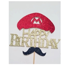 hot deal buy mario bros cake topper birthday party cake decoration boys birthday party supplies decoration event party supplies game party