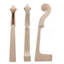 Yibuy Wood Color Maple 1/8 Cello Neck String Instruments Accessories DIY