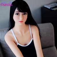 Горячий секс магазин Настоящее Силиконовые жизнь как 140/160 см секс куклы молодая Японский взрослых настоящая любовь кукла с металлический к...