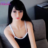Hot Sex shop real silicone life like 140/160cm sex doll young Japanese adult real love doll with metal skeleton