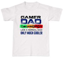 2018 Summer Fashion Men T-shirt Gamer Dad Like A Normal Only Much Cooler Funny Mens Womens Cotton T-Shirt T