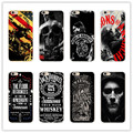 Sons Of Anarchy jack daniels design Cover Case for Samsung Galaxy S4 S5 S6 S7 Coque Edge for iPhone 4 s 7 5 s 5 c SE 6 6 s Plus