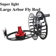 Maximumcatch HVC 3-10 wt  Exclusive Super Light  Fly Reel CNC Machine Cut Fly Fishing Reel Large Arbor Aluminum Fly reel