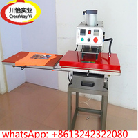 double station pneumatic Heat press