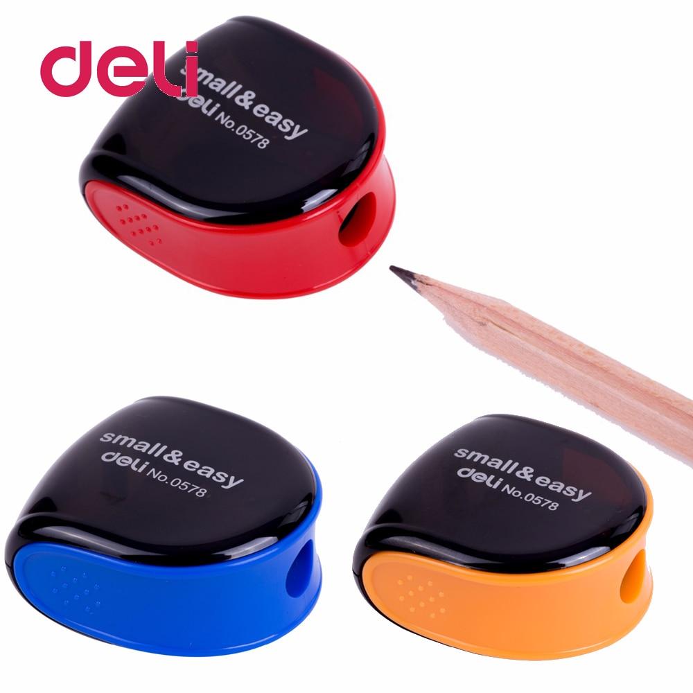 Deli 1pcs Fashion cute Precision Cosmetic Pencil Sharpener Eyebrow Lip Liner Eyeliner Pencil School Office Supply Gift Hot Sale