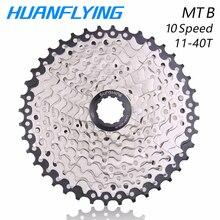 Sunshine Mountain Bike Bicycle Freewheel 10 Speed 11-40t Cassette Sprockets Flywheel  For Parts Shimano M610 M780 X5 X7 все цены