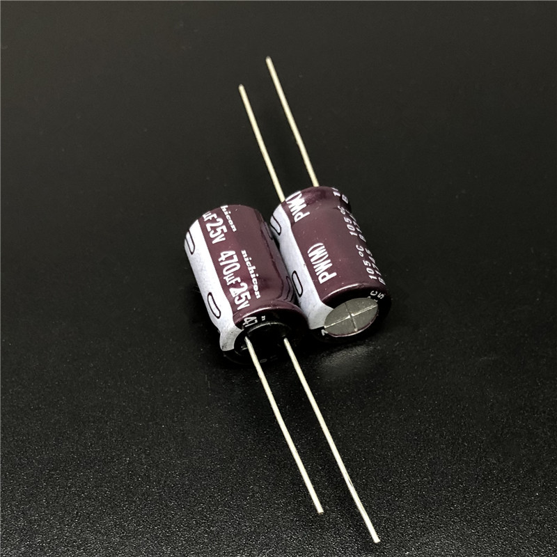 100pcs 25V 100uF 25V  Japan ELNA 8x7mm Audio Capacitor Yellow