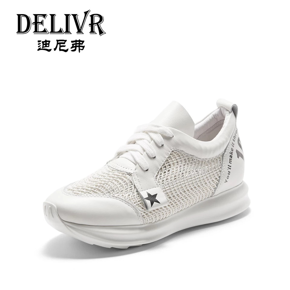 Delivr 2019 Spring White Running Shoes Women Sport Shoes Harajuku Tenis Feminino Thick Sole Zapatillas Mujer Plataformas SnakersDelivr 2019 Spring White Running Shoes Women Sport Shoes Harajuku Tenis Feminino Thick Sole Zapatillas Mujer Plataformas Snakers