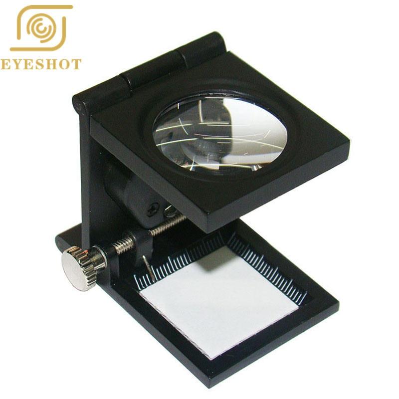 Eyeshot Foldable Scale Magnifier Led Illumination Light